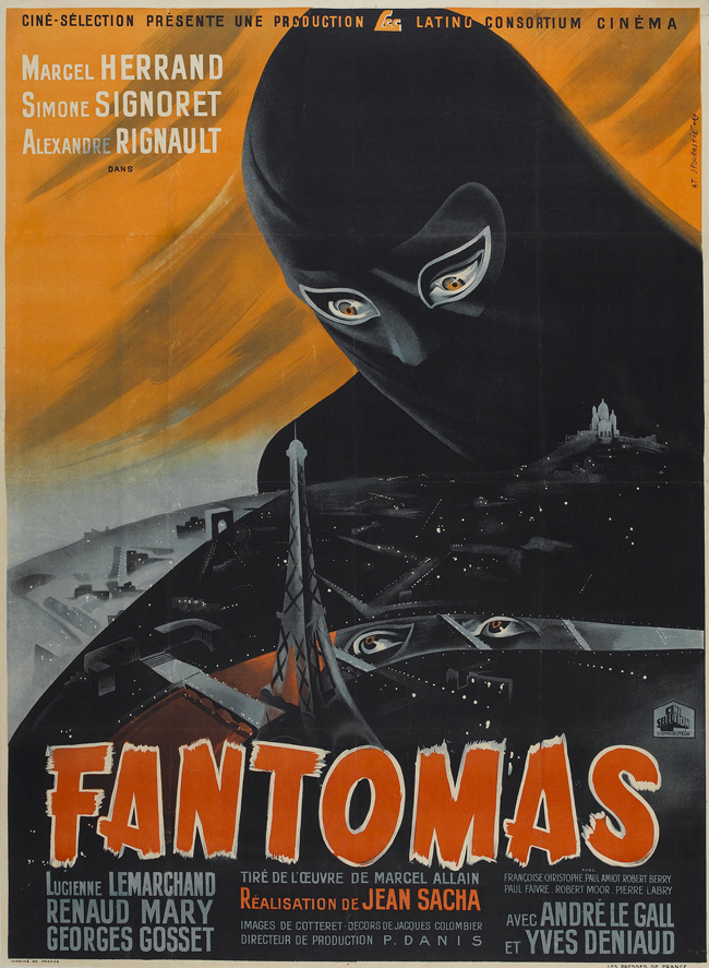 Fantomas 1932 Artist Unknown